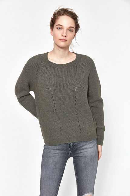 Pull Col Rond Femme - Lalu