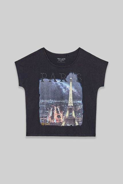 VILLE tee shirt manches courtes