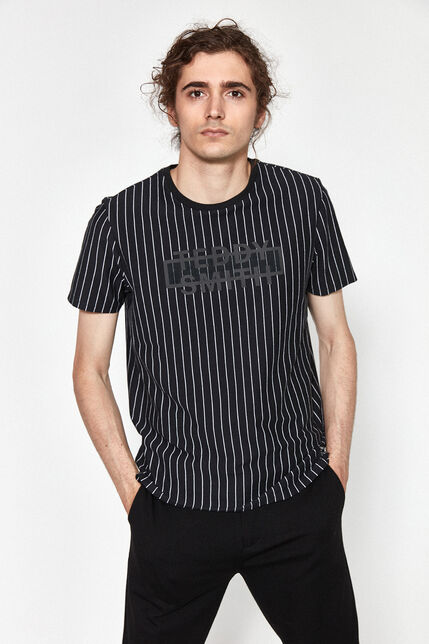 T-Shirt à Rayures Homme - Leon
