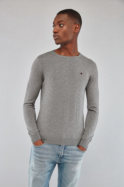 Pull en Maille Col Rond Homme - Piko Recycled