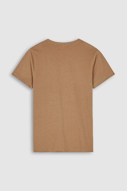 T-Shirt 100% Coton Logo En Relief Garçon - Nicolas