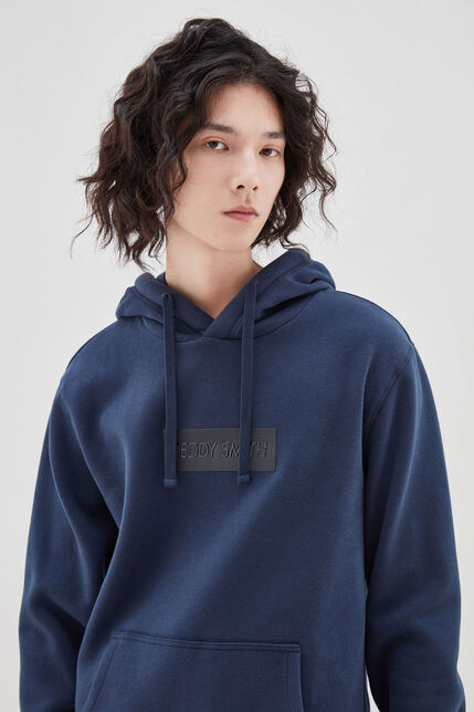 DYLAN sweat capuche, TOTAL NAVY, large