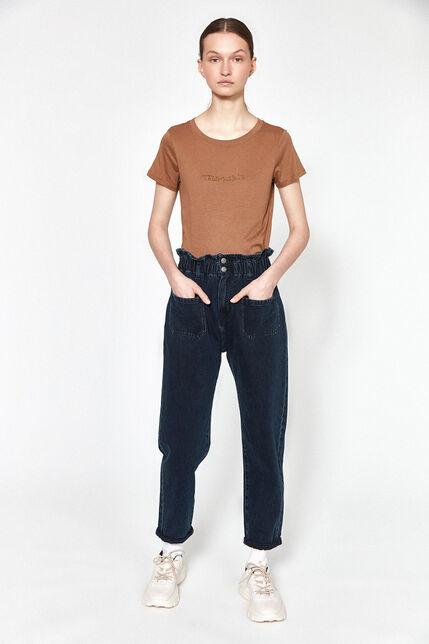 Jeans Taille Elastiquée Femme - Emy Pocket