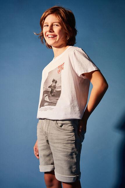 T-Shirt Imprimé Skate Garçon - Craig
