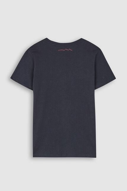 T-Shirt Badge Poitrine Garçon - Nark Junior