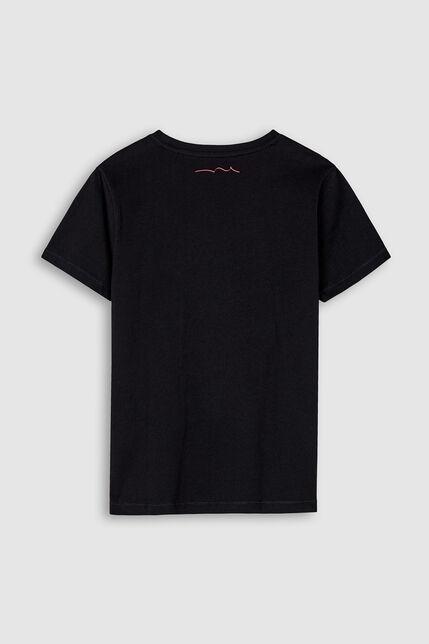 T-Shirt 100% Coton Motif Relief Garçon - Cask