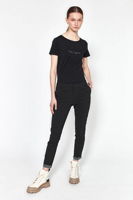 Pantalon Avec Poches Italiennes Femme - City