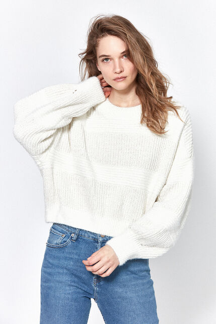 Pull Cropped Femme - Lalo