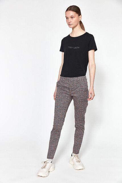 Pantalon Imprimé Géométrique Femme - City Print