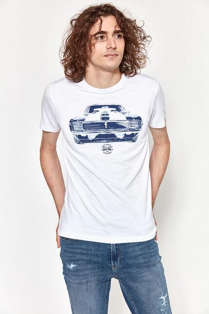 T-shirt à Col rond Visuel Devant Homme - Cars