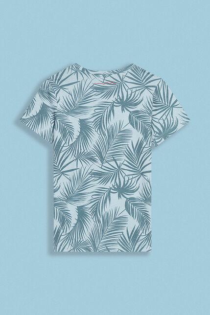 T-Shirt Imprimé Tropical Garçon - Luc
