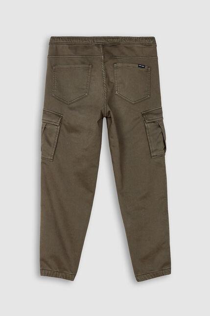 Pantalon Cargo Taille Élastique Garçon - Pikers