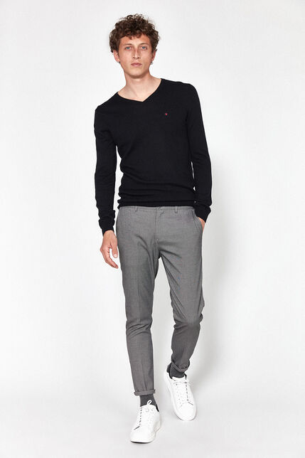 Pantalon Tissu jacquard Bicolore Homme - Kingsman