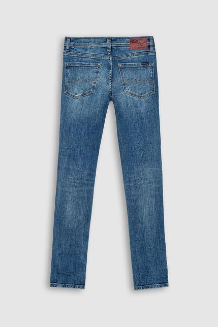 Jeans Skinny Troué Garçon - Destroy