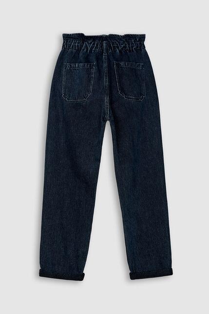 Jeans 100% Coton Fille - Emy Pocket