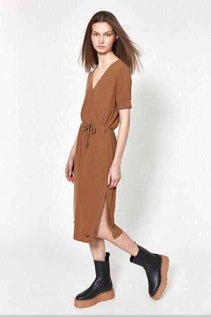 Robe Encolure Cache-Coeur Femme - Didou