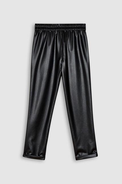 Pantalon Similicuir Fille - Teddysimi