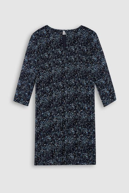 Robe Fluide Plissée Imprimée Fille - Ramelie