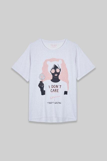 FACE tee shirt manches courtes