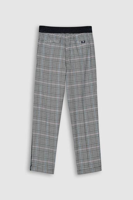 Pantalon Jogger à Carreaux Fille - Jog Side 3