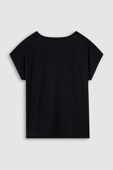 T-Shirt Visuel Fantaisie Fille - Wording