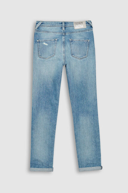 Jeans Skinny Déchiré Fille - Jeg HW