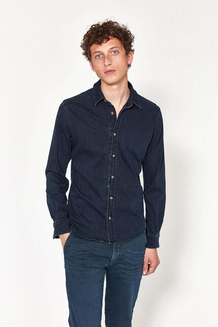 Chemise en JeansManche Longues Homme- Arthur