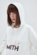 AELA sweat capuche, MIDDLE WHITE, large