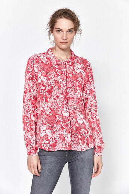 Chemise Imprimée Fleurs Femme - Viki