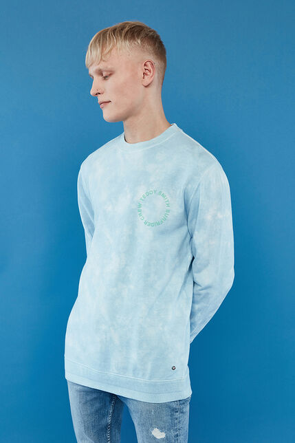 Sweat Col Rond Tie and Dye Homme - Rayan
