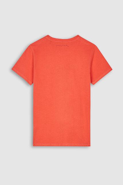 T-Shirt Manches Longues Logo Brodé Garçon - Give