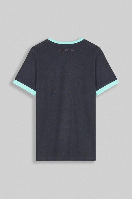 T-Shirt Contraste Garçon - Ticlass 3