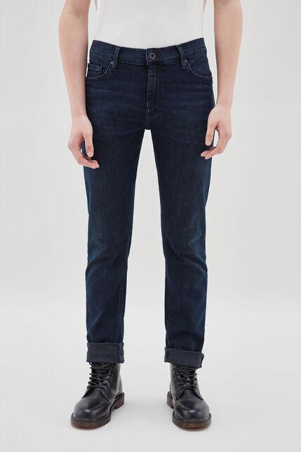 ROCK jean slim, BLUE BLACK, large