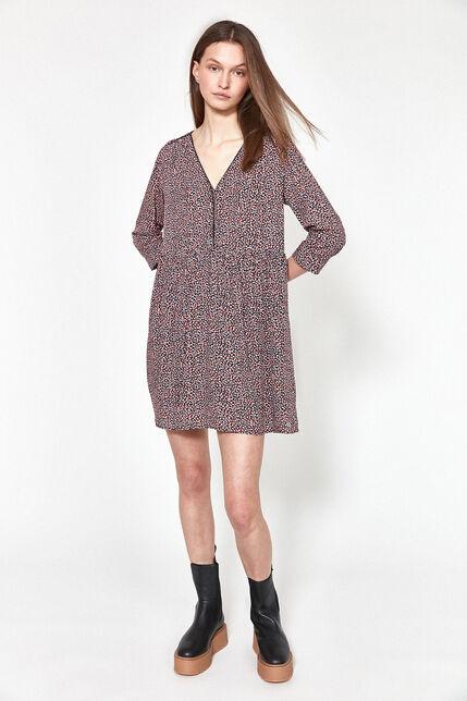 Robe à imprimé coloré Femme - Audelia