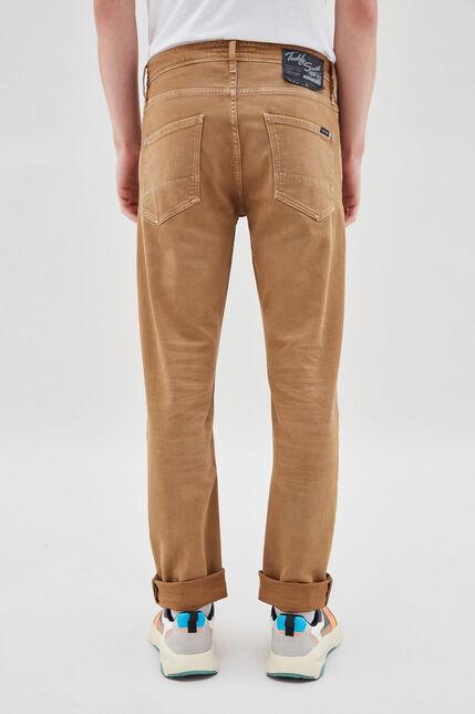 REEPLE color jean slim, TABACCO, large