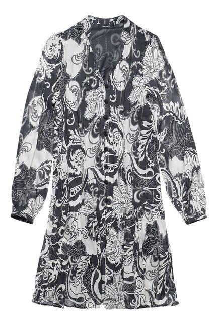 Robe Col V Design Femme - Aura