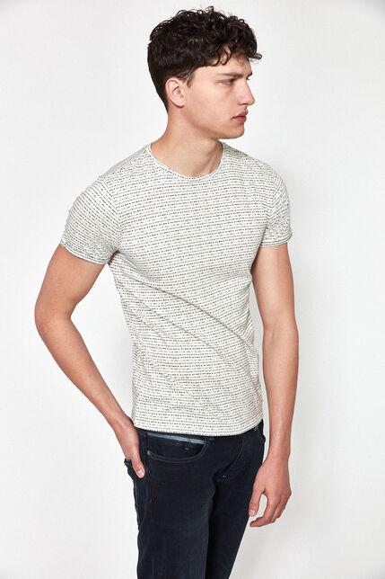T-Shirt en Jersey Jacquard Homme - Miller
