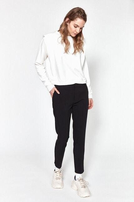 Pantalon Cigarette Uni Femme - City Slit