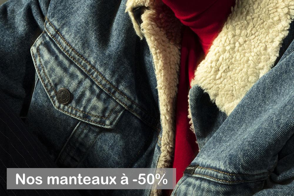 Manteaux -50%